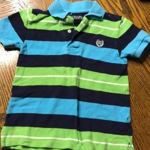 Blue and Green Chaps Polo 👕